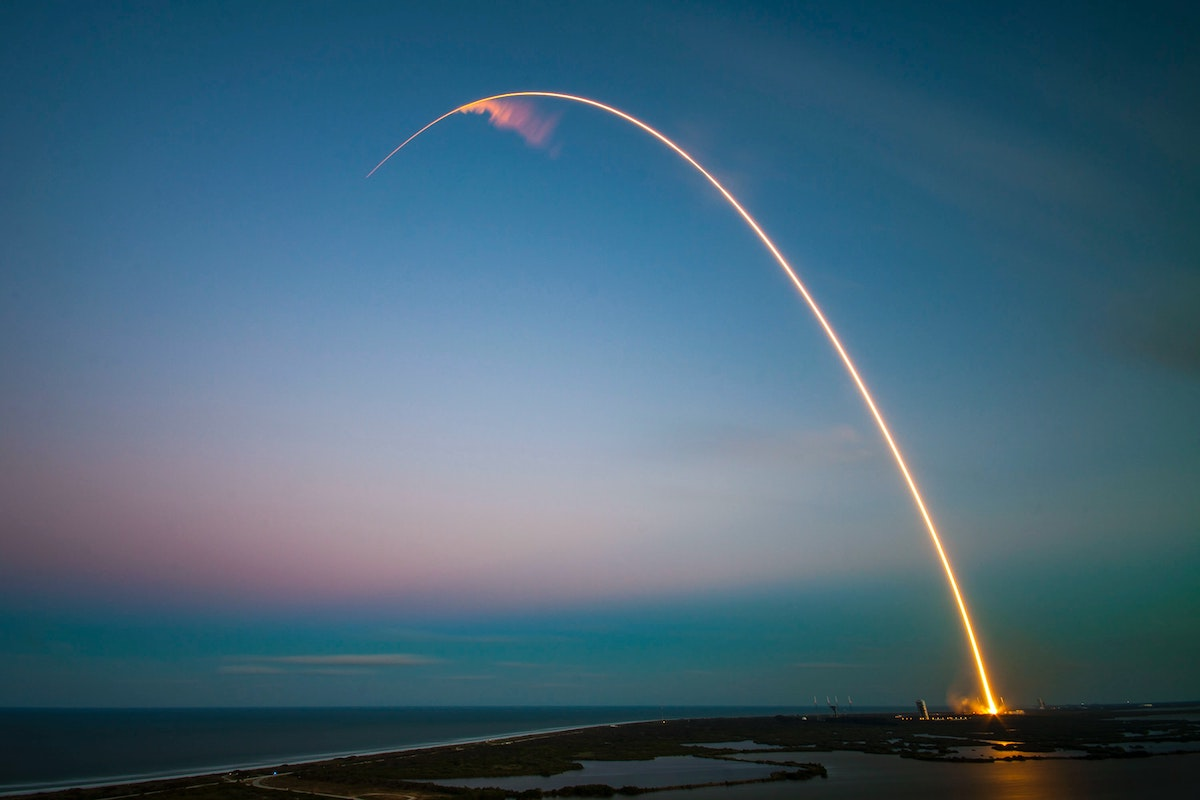 SpaceX launch - Photo by SpaceX, borrowed from Unsplash