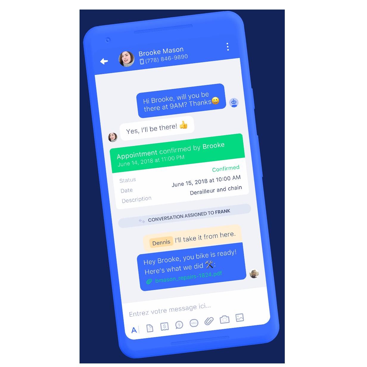 Kimoby mobile app