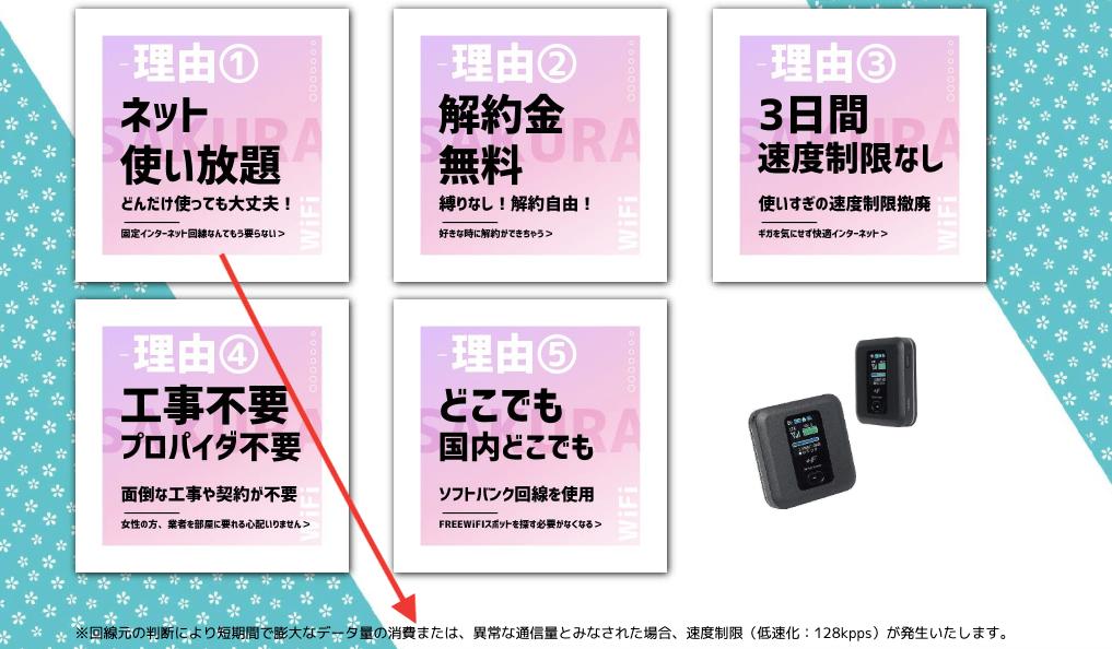 sakurawifiホームページ