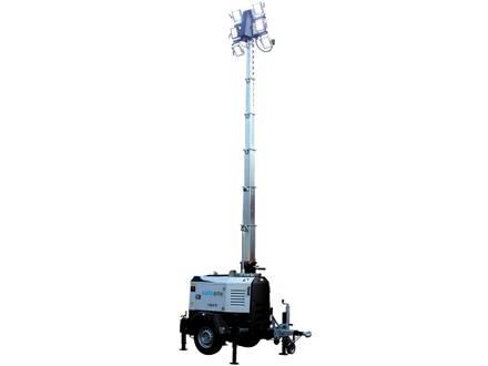 X-ECO Mobile Lighting Tower + Mains Power