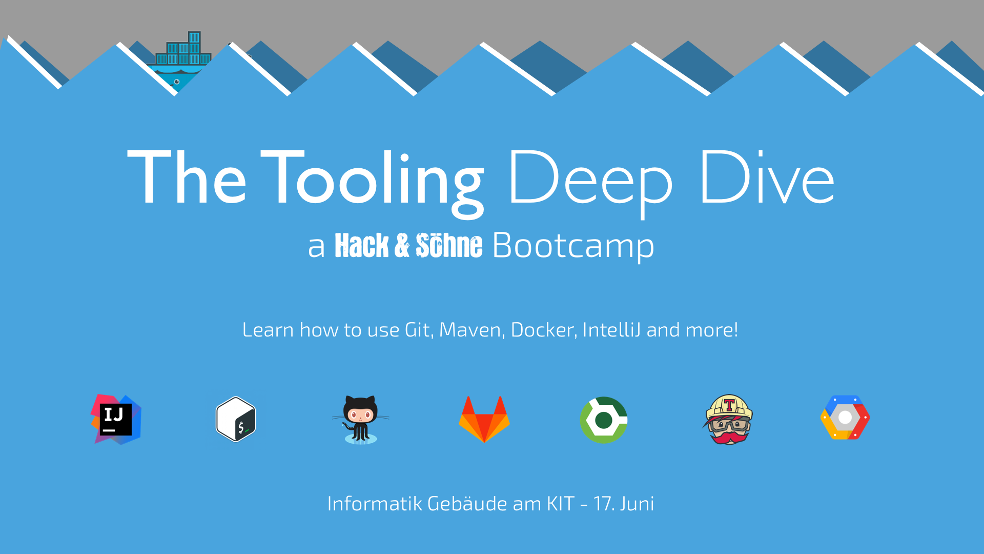 The Tooling Deep Dive