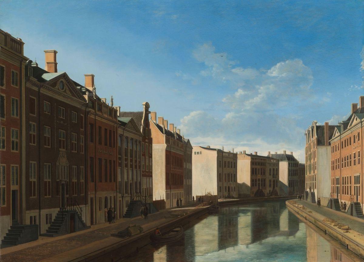 View of the Golden Bend in the Herengracht, Gerrit Adriaensz.