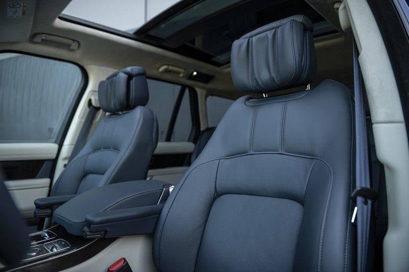 Land Rover Range Rover 5.0 V8 SC Autobiography Portofino Blue + Verwarmde, Gekoelde voorstoelen met Massage Functie + Adaptive Cruise Control + Head Up afbeelding 9
