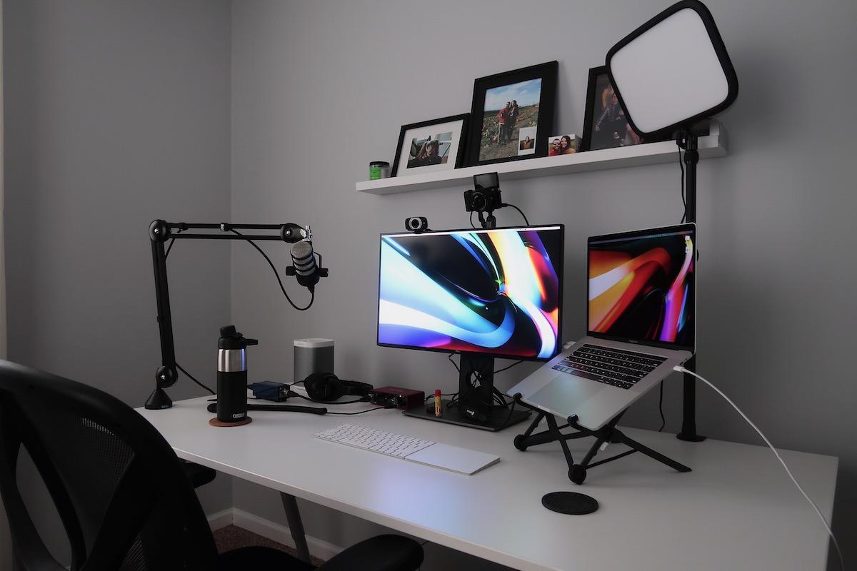 Home desktop setup