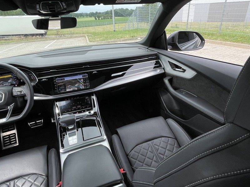 Audi Q8 50TDI 286pk Quattro S-Line Black Optic Lucht RS-Zetels B&O Pano Leder-Dash 22-Inch Soft-Close! afbeelding 25