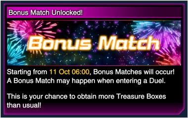 Bonus Matches