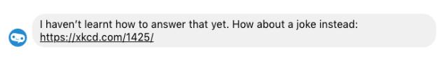 Chatbot fallback