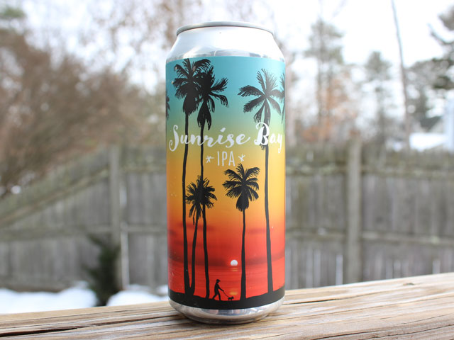Sunrise Bay, a IPA brewed by Redemption Rock Brewing Company