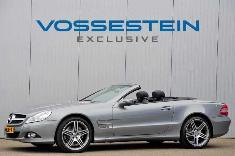 Mercedes-Benz SL-Klasse 500 / 1e Eigenaar / 34dkm NAP / Harman Kardon / Stoelverw. & Stoelkoeling / Cruise / Keyless