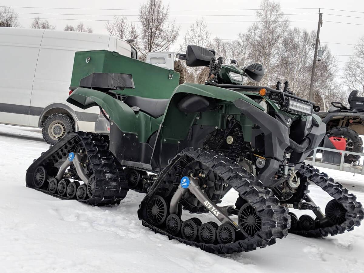 Winter Equipped ATV