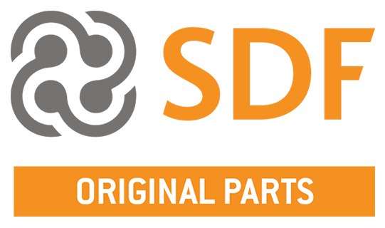 Logo SDF Original replacement parts