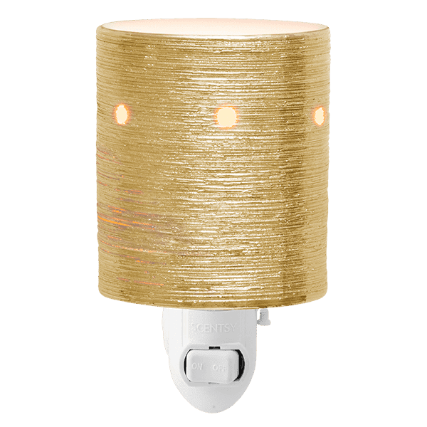 Etched Core Mini Warmer - Gold