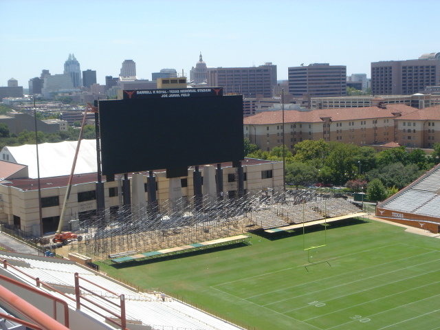Texas Longhorns 2006 Jumbotron