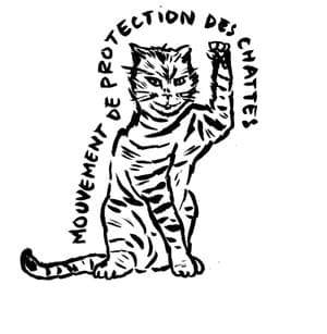logo du mouvement de protection des chattes