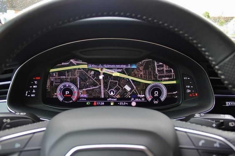 Audi Q8 50 TDI Quattro 3x S-Line 3.0 V6 286pk **HUD/Luchtvering/ACC/Elek.Trekhaak/B&O/Matrix.LED** afbeelding 25