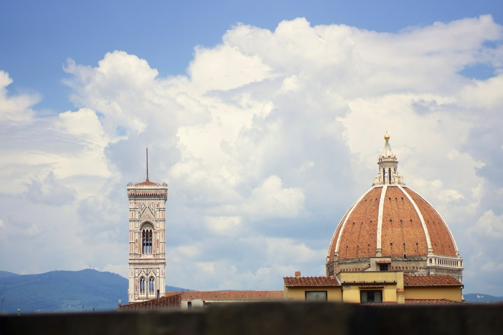 The Duomo (Florence Cathedral), from Uffizi