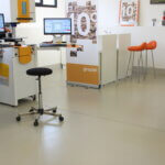 Studio CAD e uffici di un'industria di precisione della provincia di Vicenza.