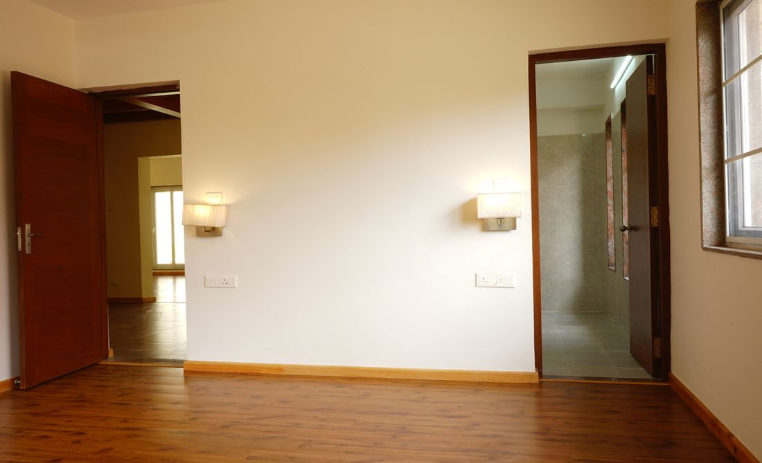 Master bedroom on the main level