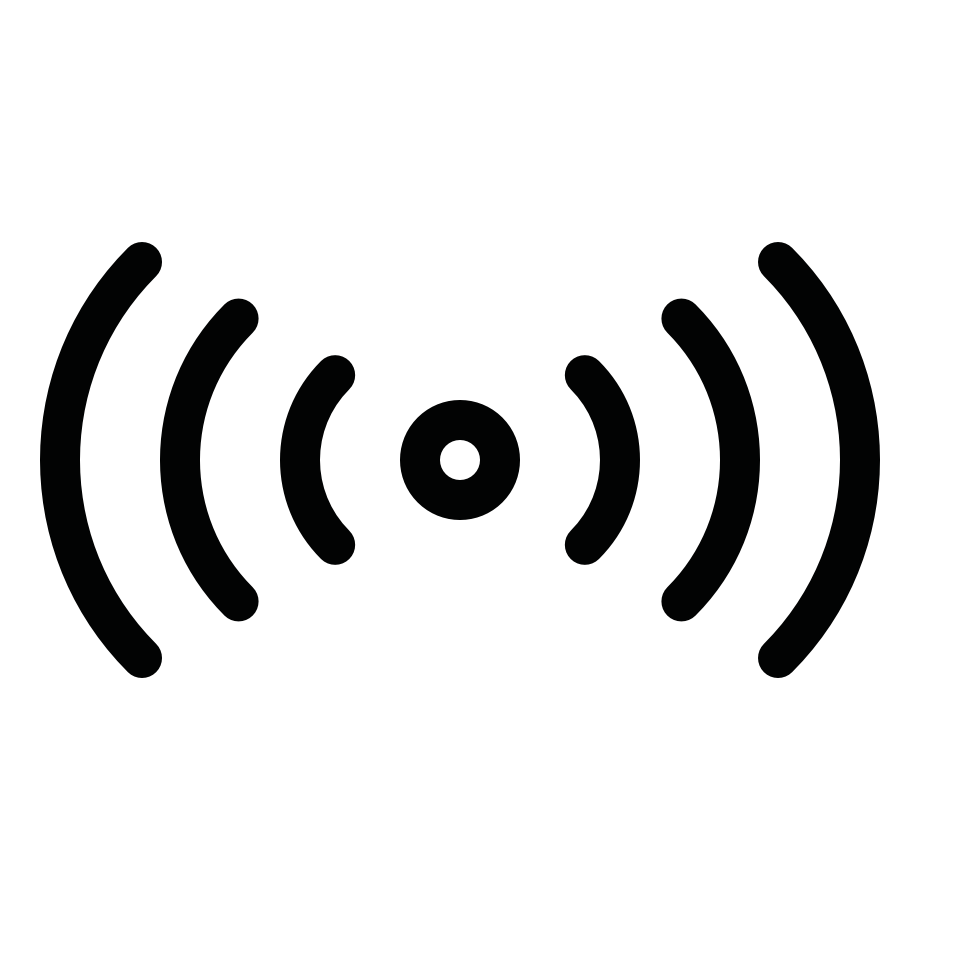 Communication broadcast point middle