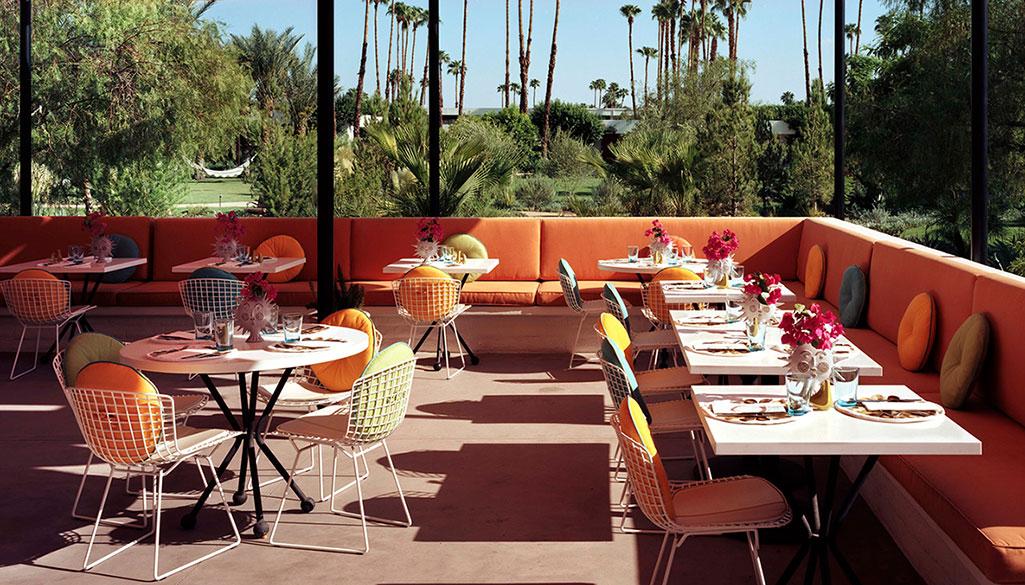 Palm Springs outdoor restaurants