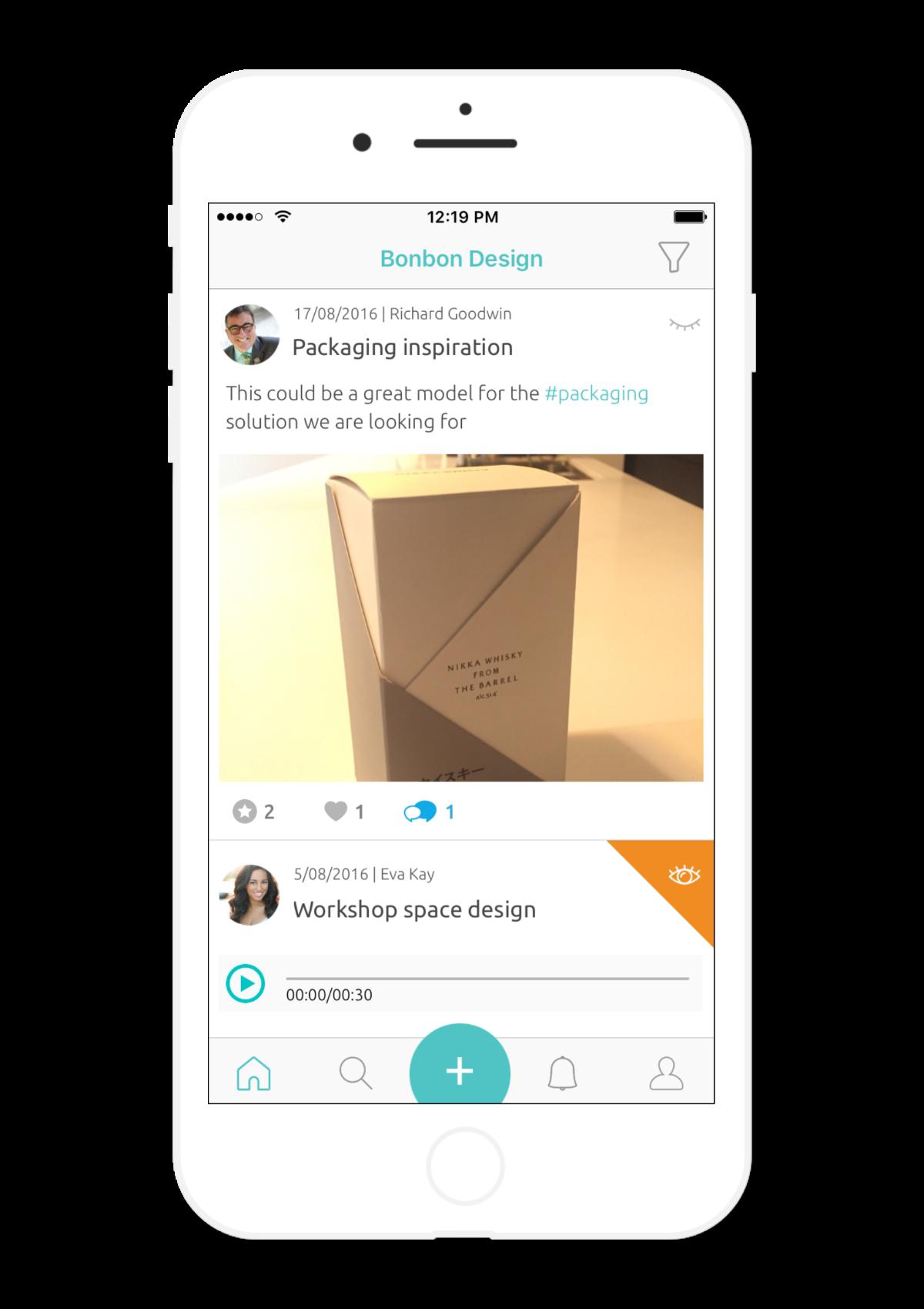Screen - share ideas