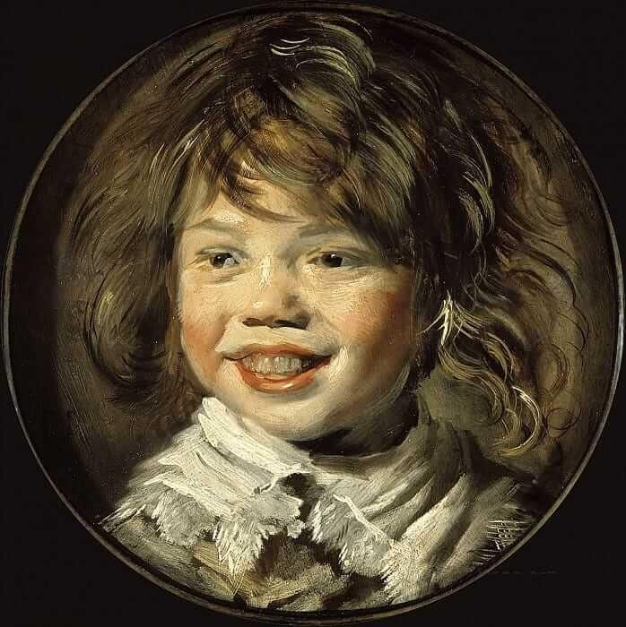 Франс Хальс. Смеющийся мальчик. 1625. Источник: gallerix.ru