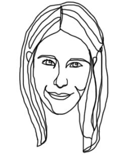 Joanne Malatesta characture