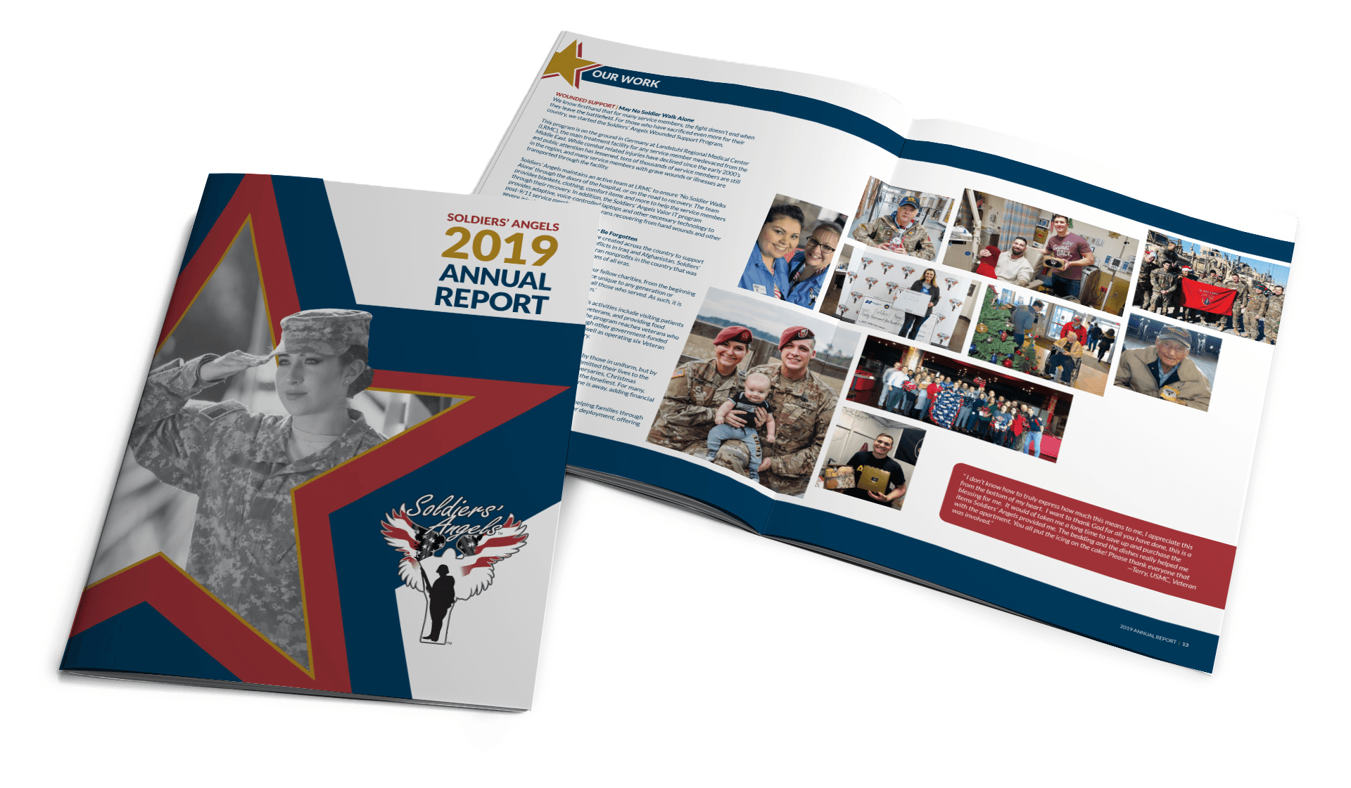 Soliders' Angels Annual Report