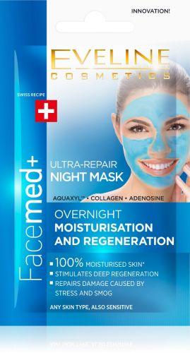 EVELINE FACEMED+ ultra-bőrmegújító éjszakai maszk 7 ml