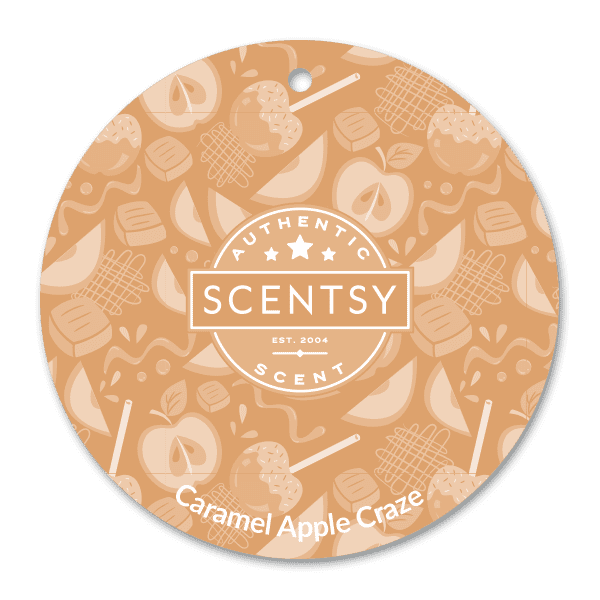 Caramel Apple Craze Scent Circle