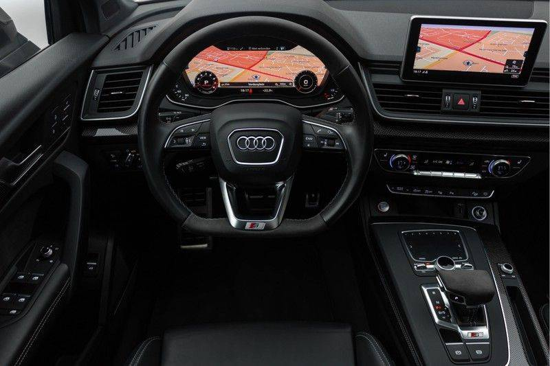 "Audi SQ5 3.0 TFSI 354pk Quattro Black Edition Panoramadak Luchtvering Valconaleder B&O Matrix-Dynamisch Keyless Navi-High ACC DriveSelect  21""Performance Camera Pdc afbeelding 3"