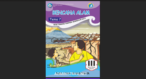 Buku Siswa Tunagrahita Kelas 3 Tema 7 Bencana Alam