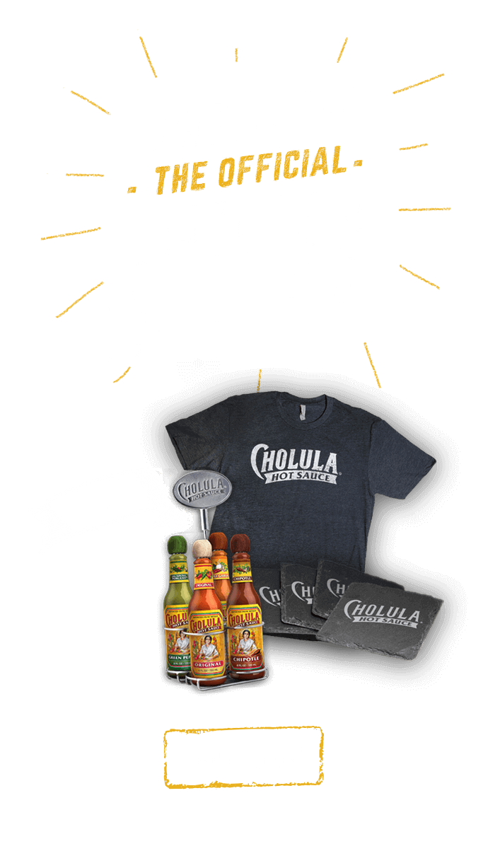 Check Out The Official Cholula Shop