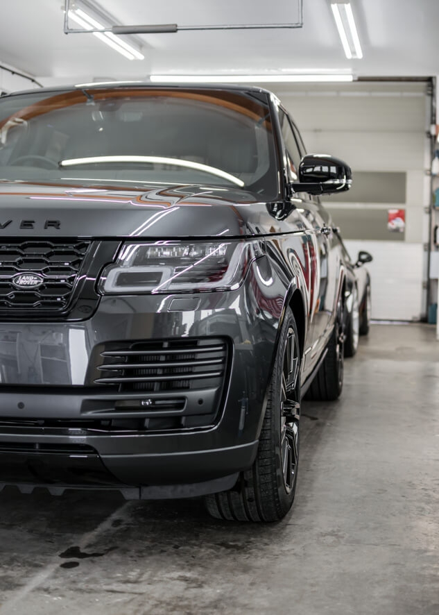 Range Rover Vogue PPF,Ceramic Coating,Headlight Protection,Paintwork Protection