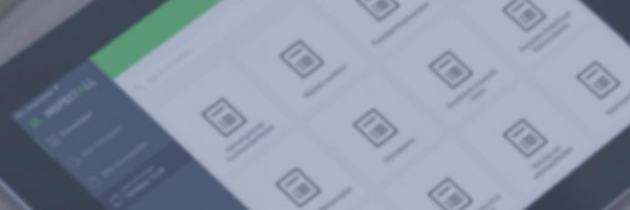 Inspect4All applicatie iPad