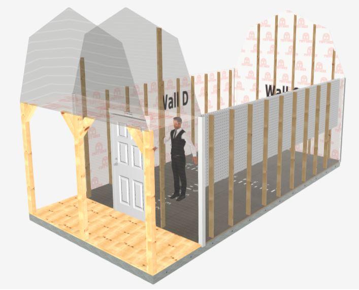 Barn Pro Weekender interior