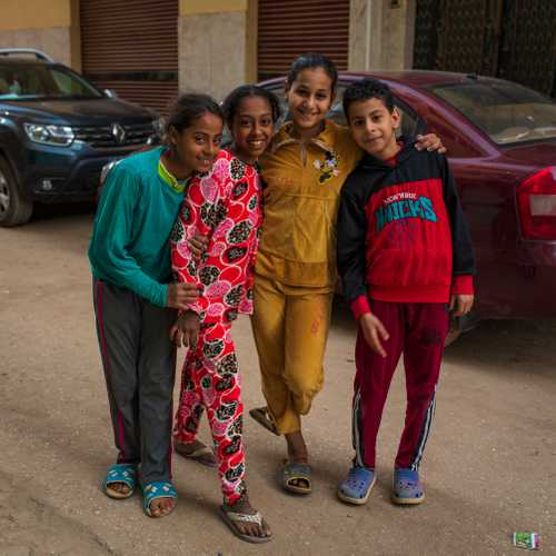 Kids in Luxor