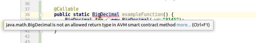 Return Type Error