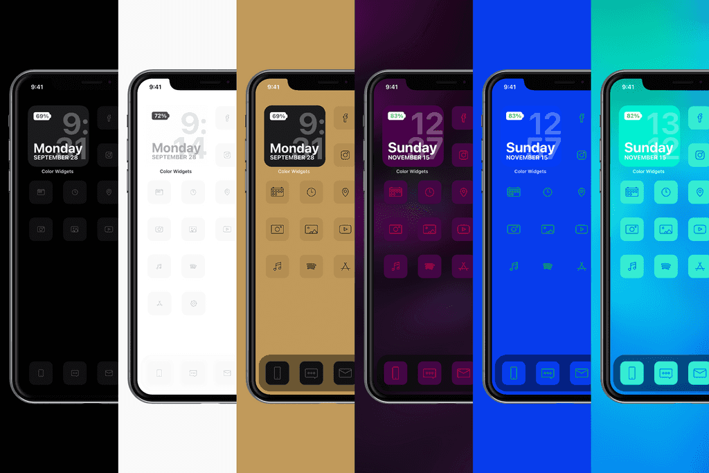 Calm Icons themes