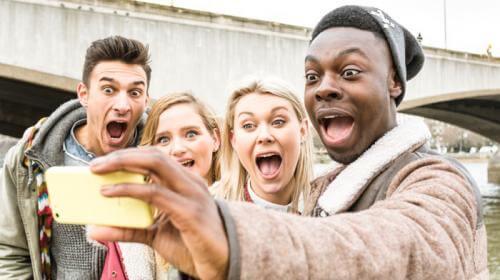 como tirar boa selfie