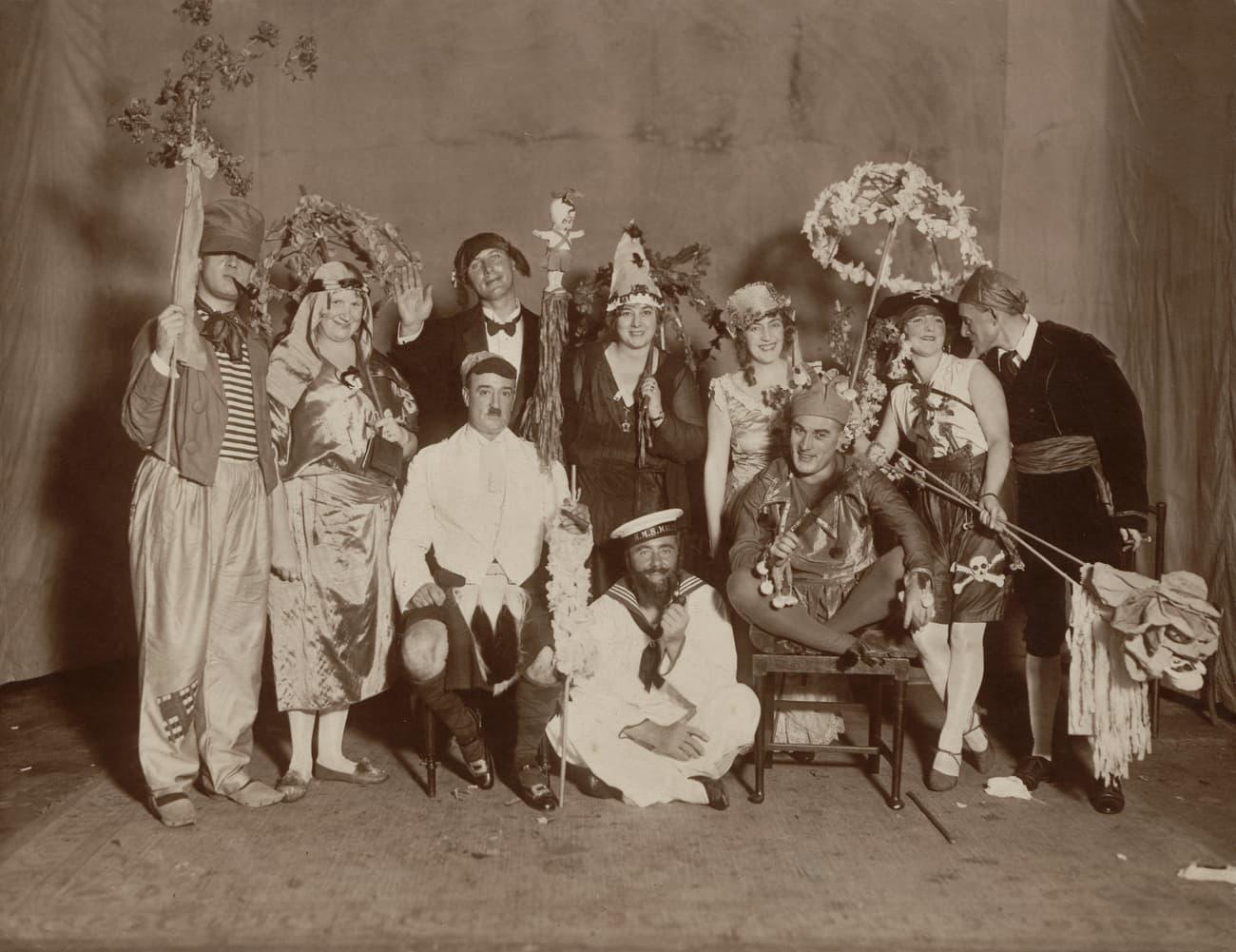 Fancy dress party, 1928