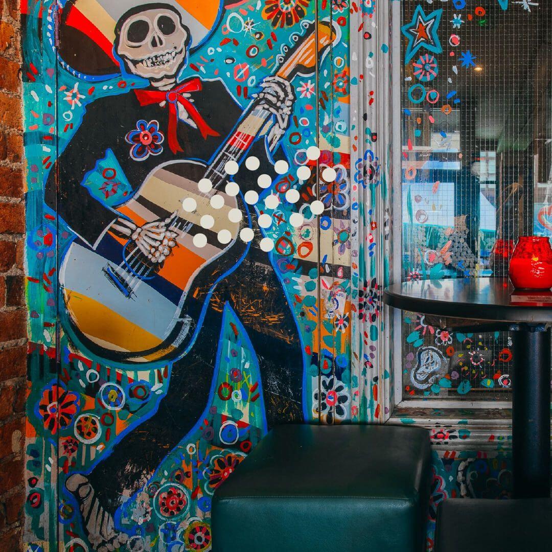 Verve Bar Leeds art