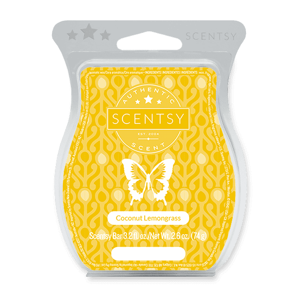 Picture of Coconut Lemongrass Scentsy Bar