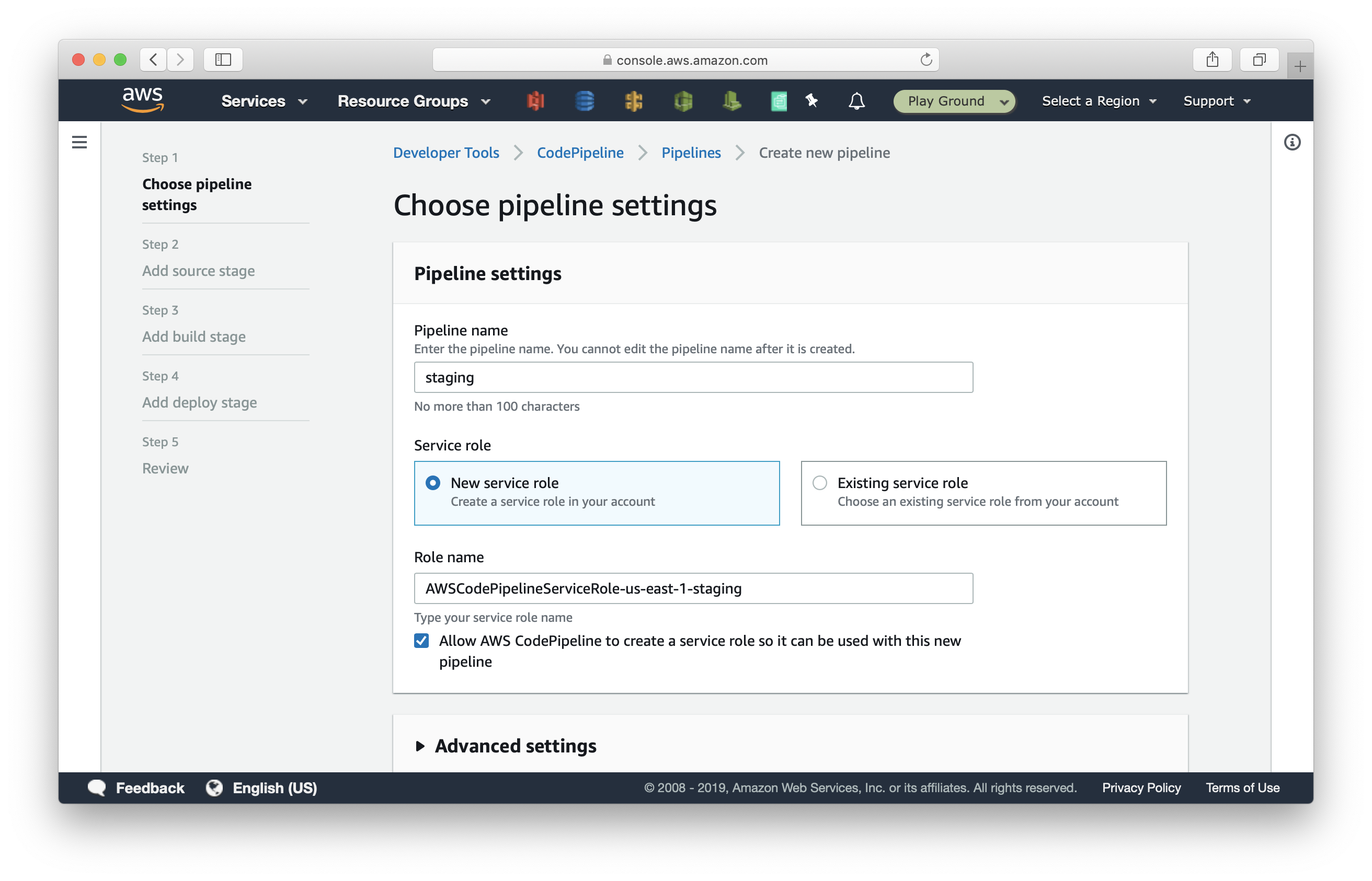Create-new-staging-pipeline-in-CodePipeline