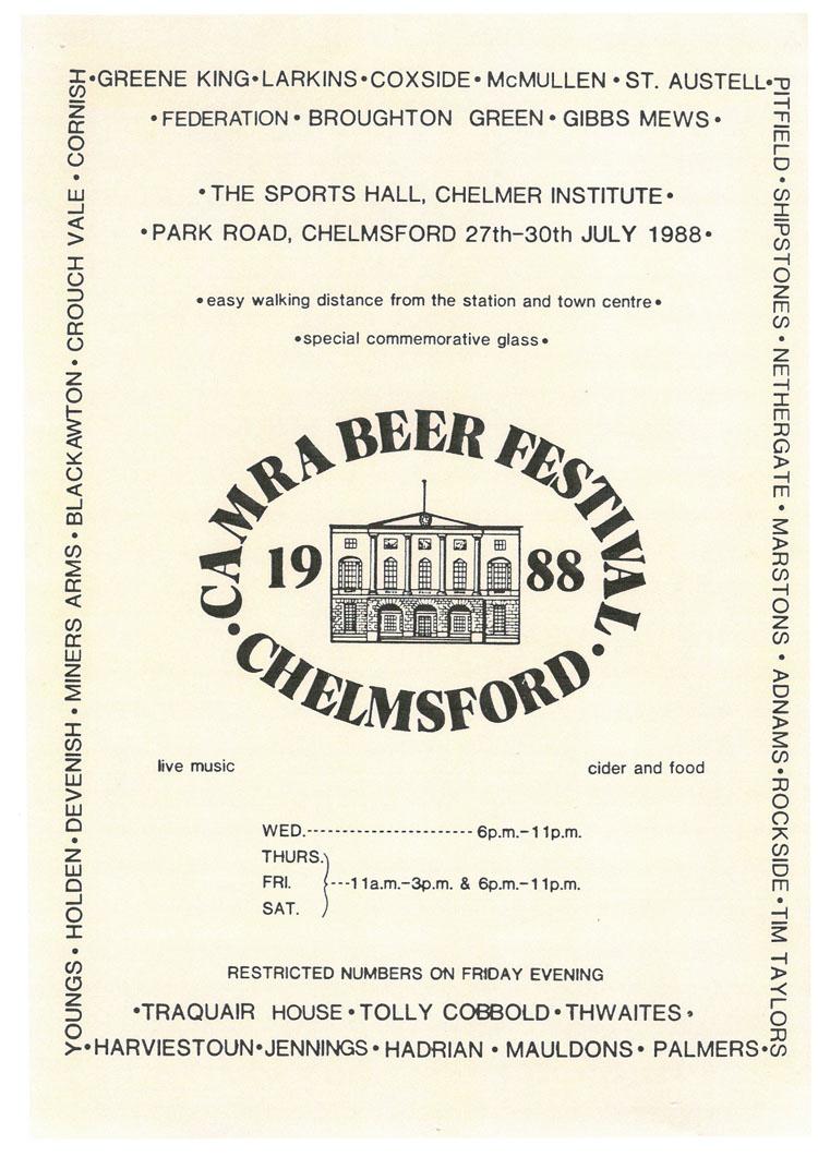 Summer Beer Festival 1988