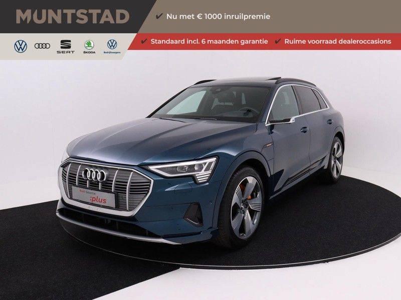 Audi e-tron 55 Quattro Incl. BTW | +/- €130 netto bijtelling| Camerabeeld spiegels | Adapt. Cruise | NAVI | Head-Up Display | 21 Inch | Matrix LED | 360 Camera | B&O | DAB | Keyless-Entry | Pano-Dak | afbeelding 1