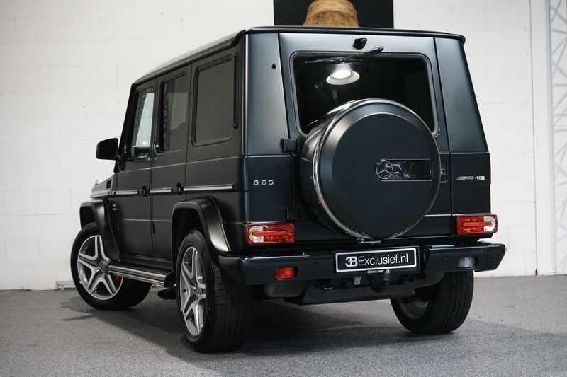 Mercedes-Benz G-Klasse 65 AMG DESIGNO MAGNO NIGHT BLACK afbeelding 3