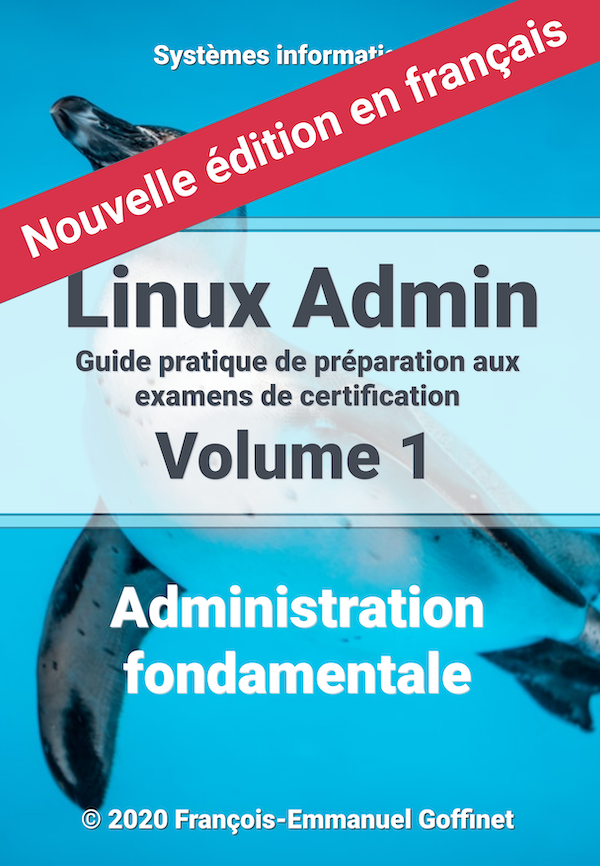 PDF Guide Linux Administration Volume 1 (ebook)