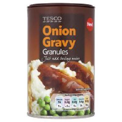 Tesco Onion Gravy Granules