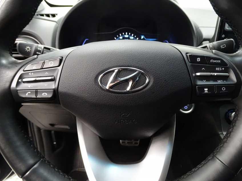 Hyundai Kona EV Premium 64 kWh EX BTW 4% Leder Navigatie Clima Cruise Camera HUD  460 KM op 1 Lading! afbeelding 17